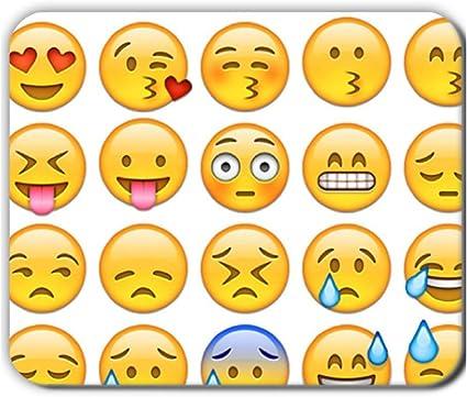 Generice Emoji diseño de impresión especial para los niños 240 mmx200mmx2 mm alfombrilla de ratón