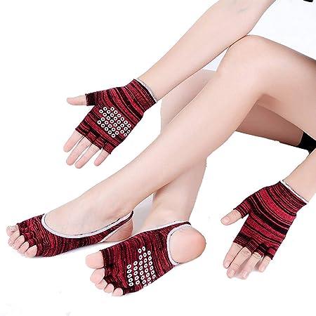 Calcetines de yoga Guantes de Yoga, Calcetines, Traje de ...