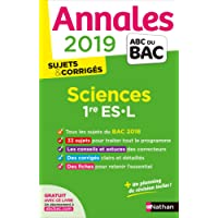 Annales ABC du BAC 2019 - Sciences 1re ES-L