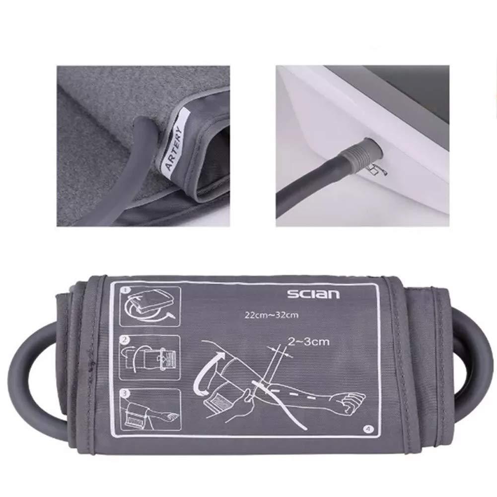 bakaji medidor de presión sanguínea Digital de brazo tensiómetro Profesional Electrónico Automático con pantalla LCD y 90 espacios memoria: Amazon.es: Salud ...
