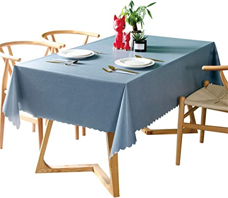 Oil-proof TableCloth Easy Wipe Clean PVC Waterproof Holiday Table Cloth Cover
