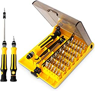 Destornilladores de Precisión 45 en 1 Conjunto de Destornilladores ...