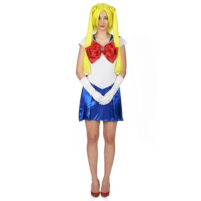 Marinero de la Marinera del Vestido del Traje Damen Blau ...