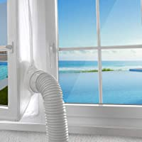 AGPTEK raamafdichting voor mobiele airconditioners, airconditioners, wasdrogers, luchtafvoerdrogers, stop hete lucht…