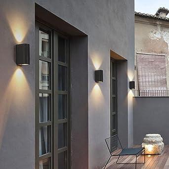 Balkon Beleuchtung Led | Wasserdichte Wandleuchte Im Freien Seeksung Modernes Design Hof