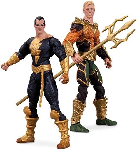 Aquaman Vs. Black Adam Collectibles