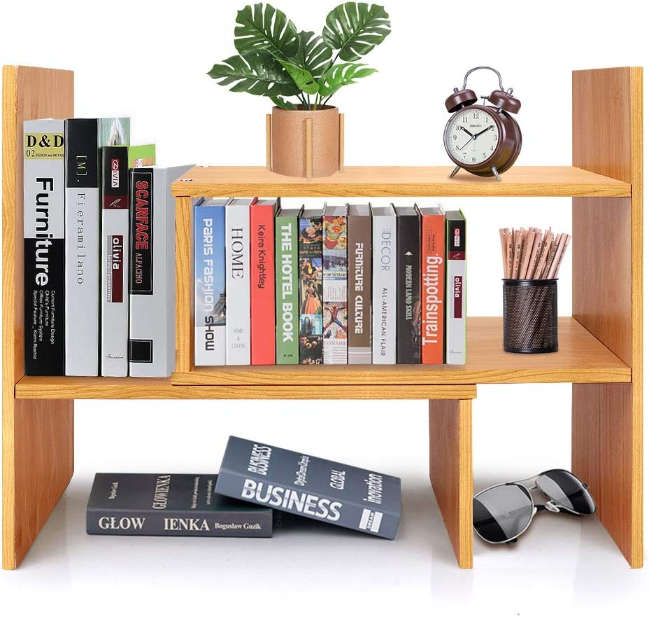 CJH Office Desk Mini Desk Bookshelf Storage Rack Creative Desk Computer Desk Counters