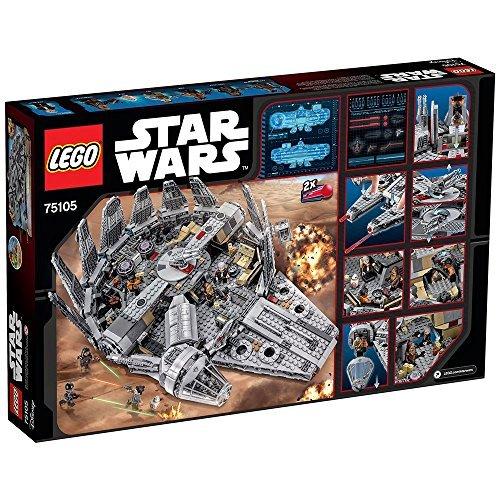 LEGO Star Wars Millennium Falcon 75105 Star Wars Toy by LEGO (Image #5)