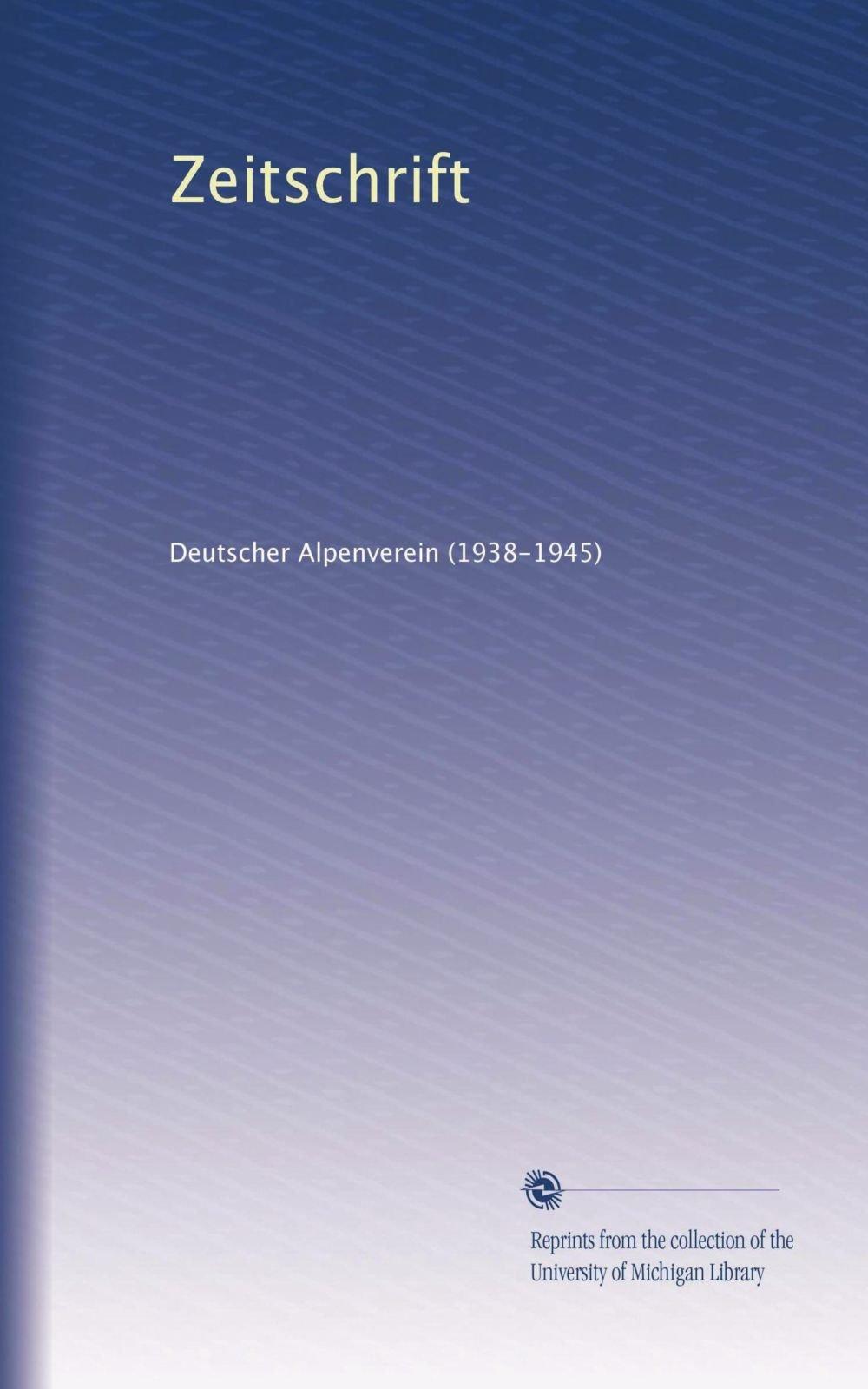 Download Zeitschrift (Volume 7) (German Edition) pdf