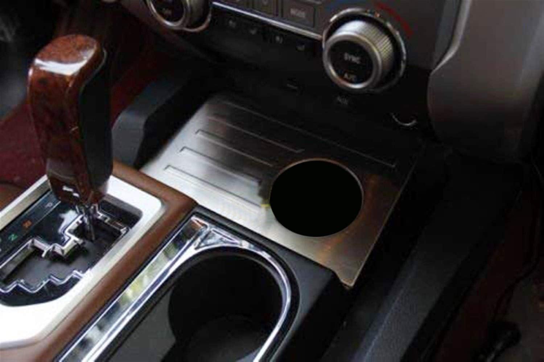 Apricot blossom for Toyota Tundra 2014-2019 Accessoires Support de Voiture en Acier Inoxydable Int/érieur Avant Tasse deau Couverture Garniture 1pcs Cadre