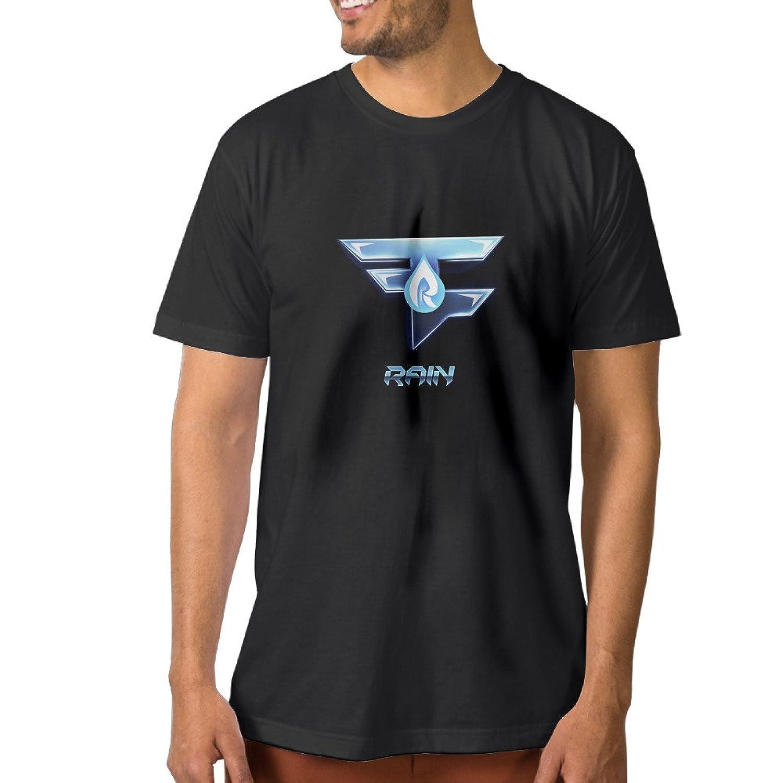 ZOENA Men's T-shirt Faze Rain Logo Black