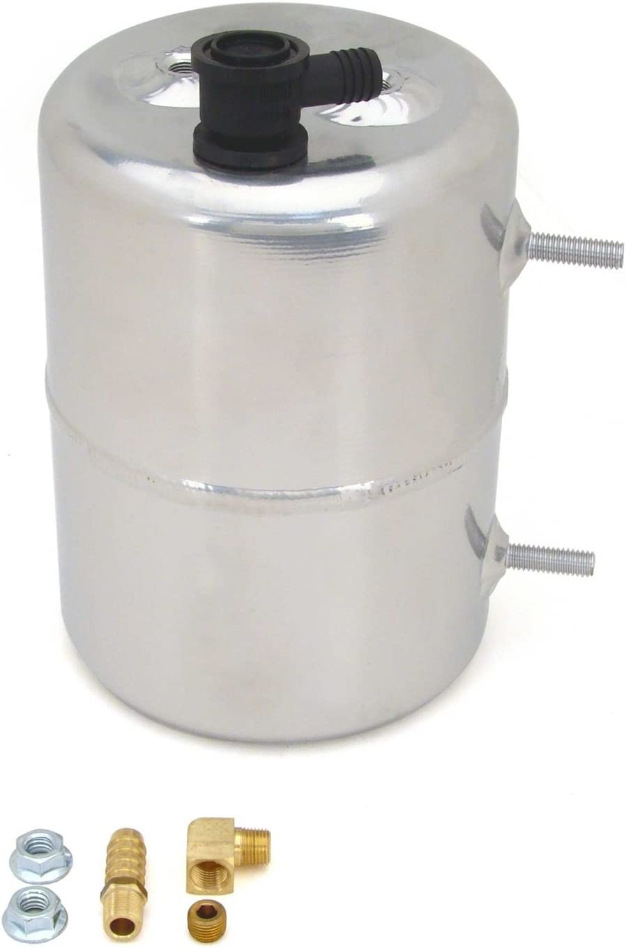 Competition Cams 5201 Vacuum Canister, Zinc Plated and Polished