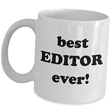 Best Editor Ever Coffee Mug
