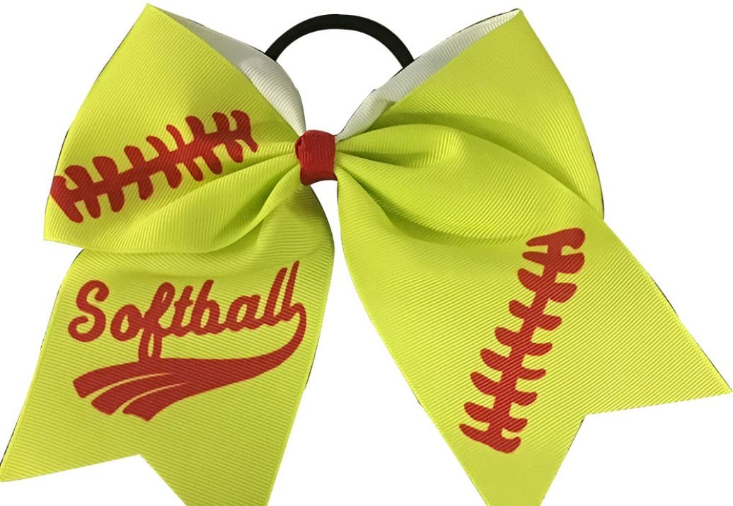 Amazon.com  Infinity Collection Softball Hair Bows- 6.5