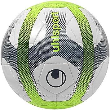 uhlsport Elysia Sala Balones de Fútbol, niños, Blanco/Azul Marino ...