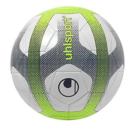 Uhlsport Elysia – Balón Unisex, Color Blanco/Azul Marino/Amarillo ...
