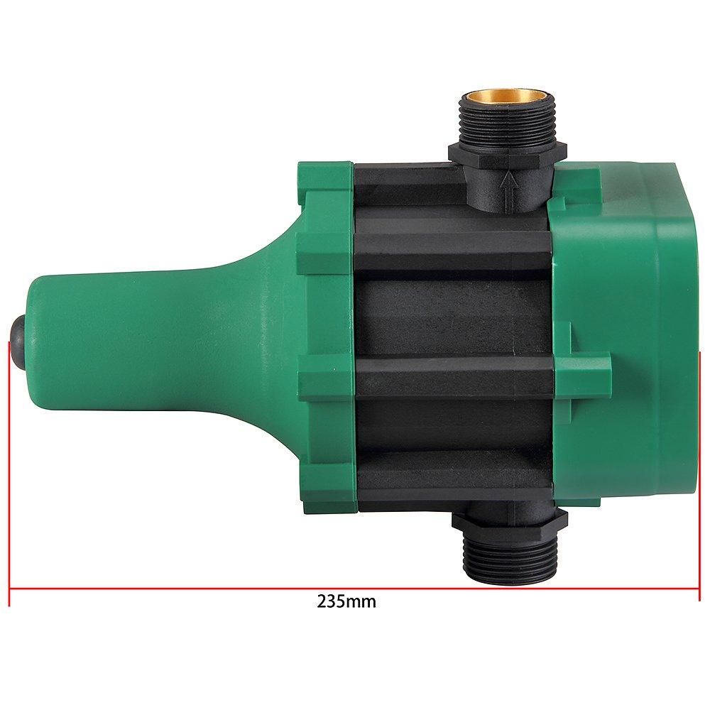 Contr/ôleur de pression pour pompe Pressostat 10 bar avec c/âble Monzana