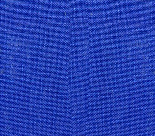 burlap fabric blue - 6
