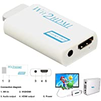 WII To HDMI Adapter Full Hd 1080p Output Upscaling Converter 3.5mm Audio Support