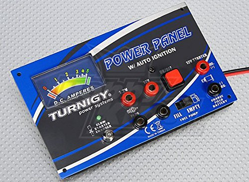 Turnigy Power Panel MkII with Amp Meter & Remote Glow Charger (Starter Panel Glow Box)