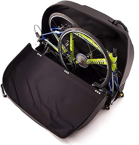 ASUD Aeroconfort Triathlon, Maleta de Ciclismo Bolsa de Transporte para Bicicleta Plegable, Negro: Amazon.es: Deportes y aire libre
