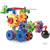 Learning Resources LER9227 Gears! Gears! Gears! Machines in Motion Building Set (116 Piece)