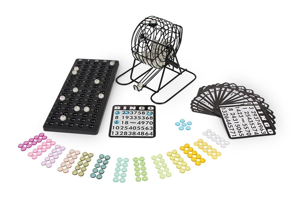 Bingo X Set - includes tumbler and plates! Handelshaus Legler