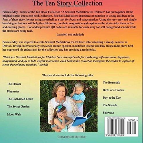 amazoncom seashell meditation for children the ten book collection 9780692693452 patricia may books