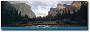 Impact Posters Gallery California Yosemite National Park Scenery Nature Poster Art Print (12x36)
