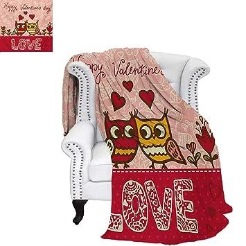 Amazon.com: cálido día de San Valentín microfibra cálida ...