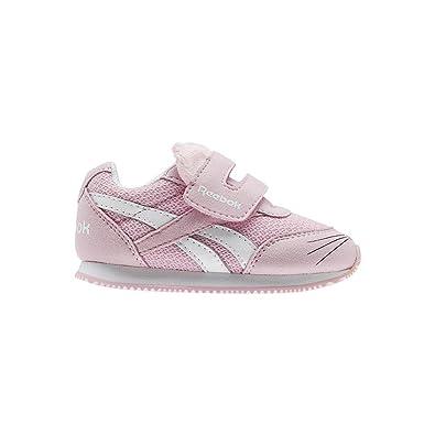 Reebok Royal Cljog 2 KC, Zapatillas de Estar por casa Bebé Unisex, Blanco (Kitten-White/Luster Pink 000), 20 EU: Amazon.es: Zapatos y complementos