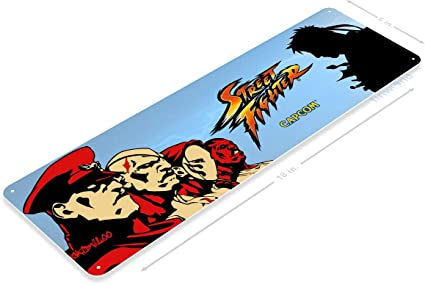 Amazon.com: Tinworld TIN Sign A623 Street Fighter 2 Arcade ...