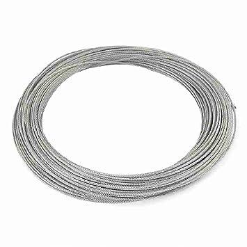 2mm Dia 7x7 47M langer flexibler Edelstahl-Draht-Kabel für Grinder ...