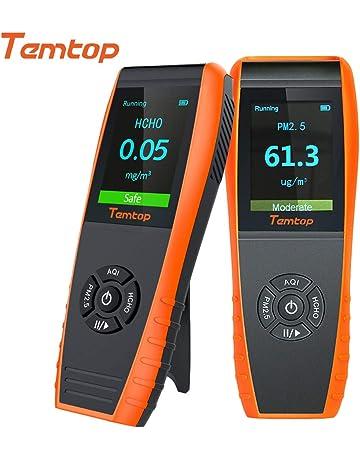 Temtop LKC-1000E Monitor Profesional del Detector de Calidad del Aire, con Pruebas Precisas