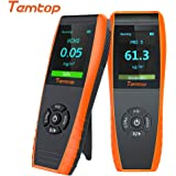 Temtop LKC-1000E Monitor Profesional del Detector de Calidad del Aire, con Pruebas Precisas PM2.5 / PM10 /Medidor…