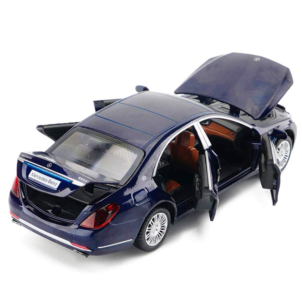 Mercedes Benz Classe S Wagon 1//32 modellino Auto Lega pressofusa Model Car Collection Decoration Ornamenti,Blu ANYWN Modellini di Automobili