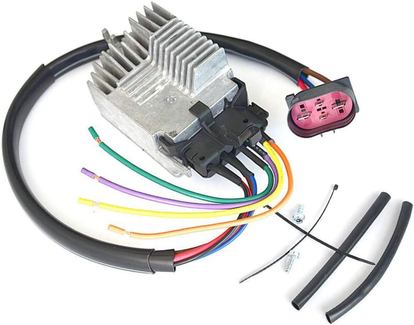 Eason Part Radiator Fan Control Module for 02-09 Audi A4 A4 Quattro Cabriolet 8E0959501AG