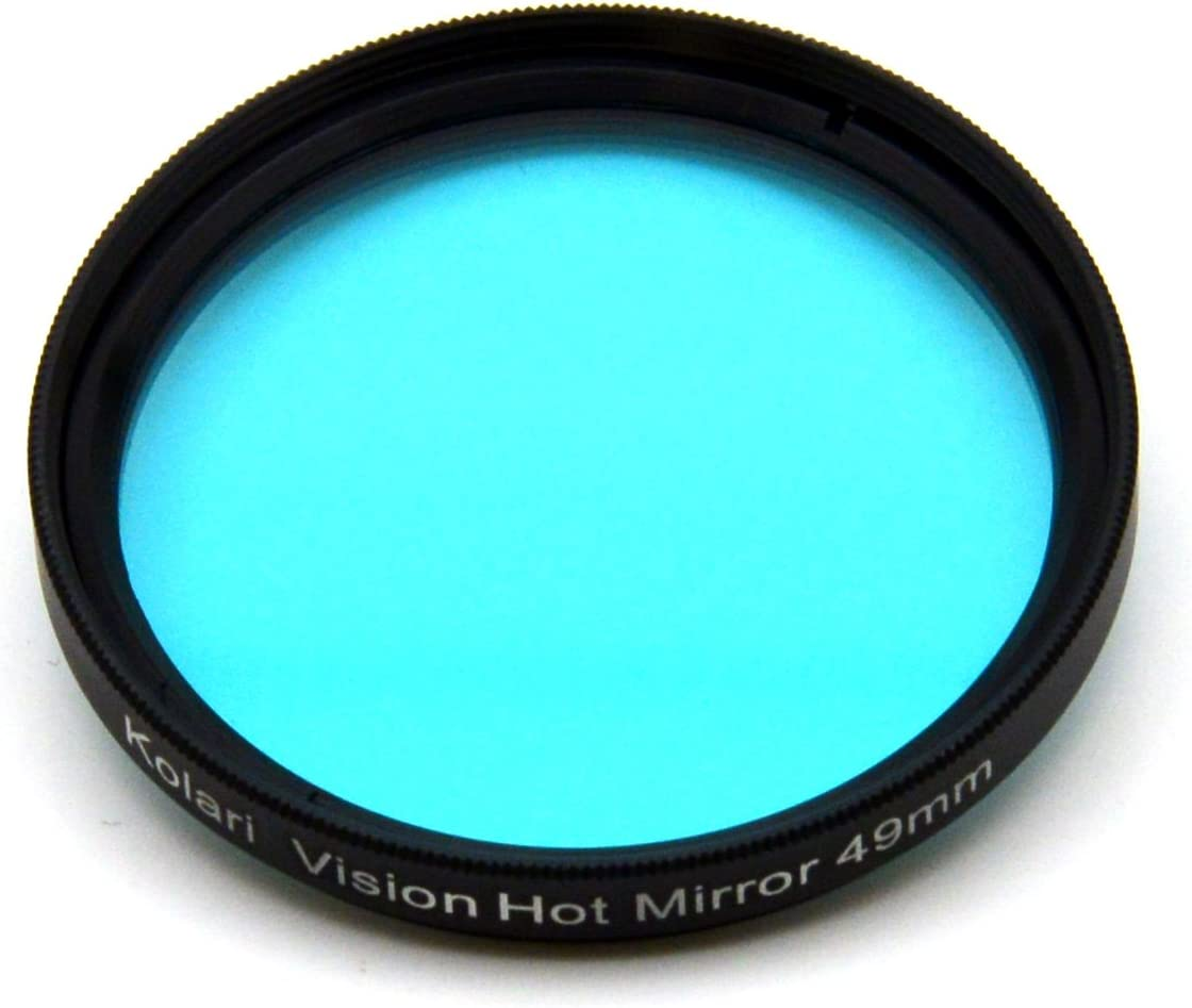 49mm, UV//IR Kolari Vision Hot Mirror UV//IR Cut Color Correcting Filter