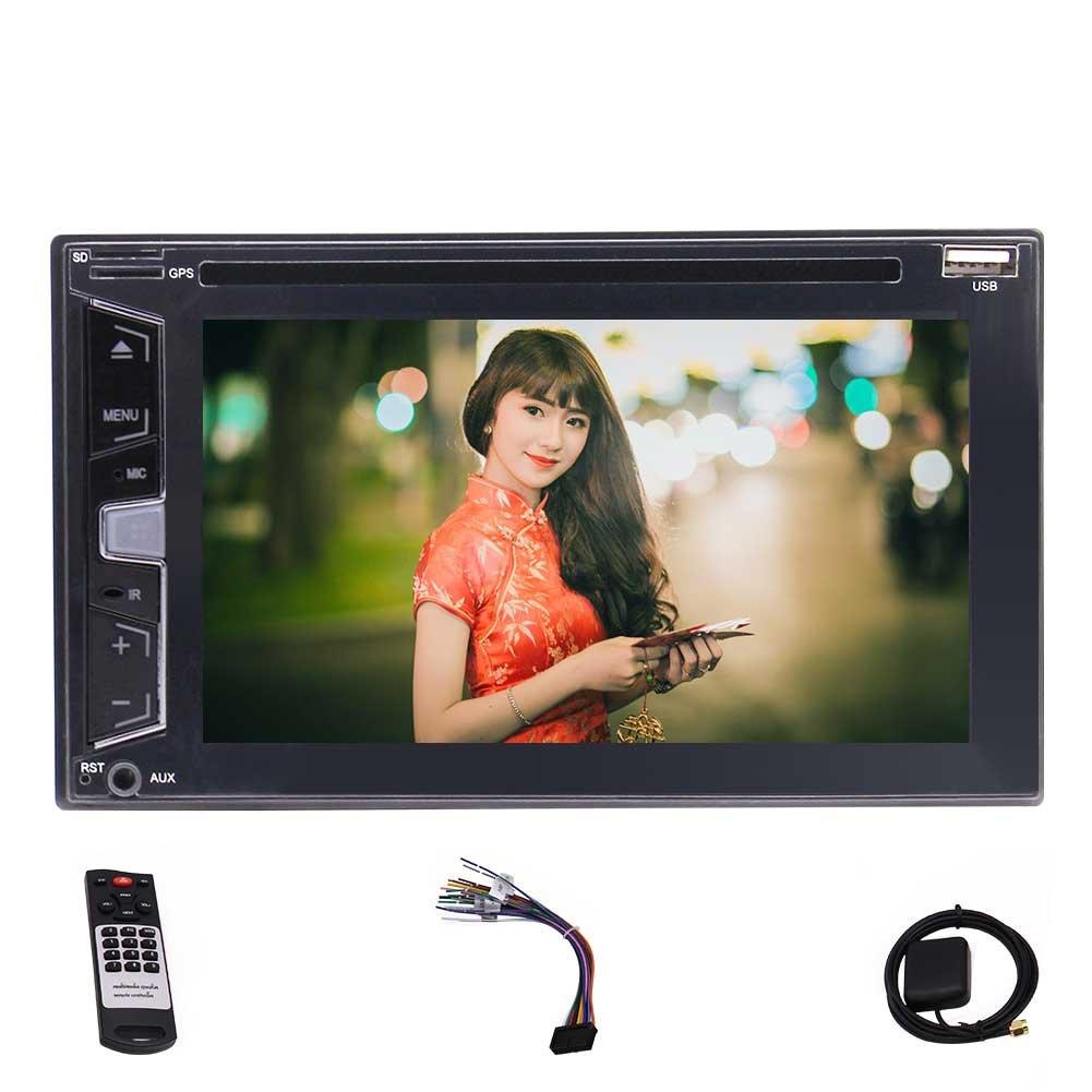 8ギガバイト地図カードは、付属の新ウィンス8.0システム6.2インチカーステレオタッチスクリーンカーDVD CDプレーヤーのサポートGPSナビゲーションブルートゥース、DVD / CD / MP3 / USB / SDのAM / FM / RDSカーステレオ、ワイヤレスリモート、ワイヤレスリアカメラ。 B079K7PLX7