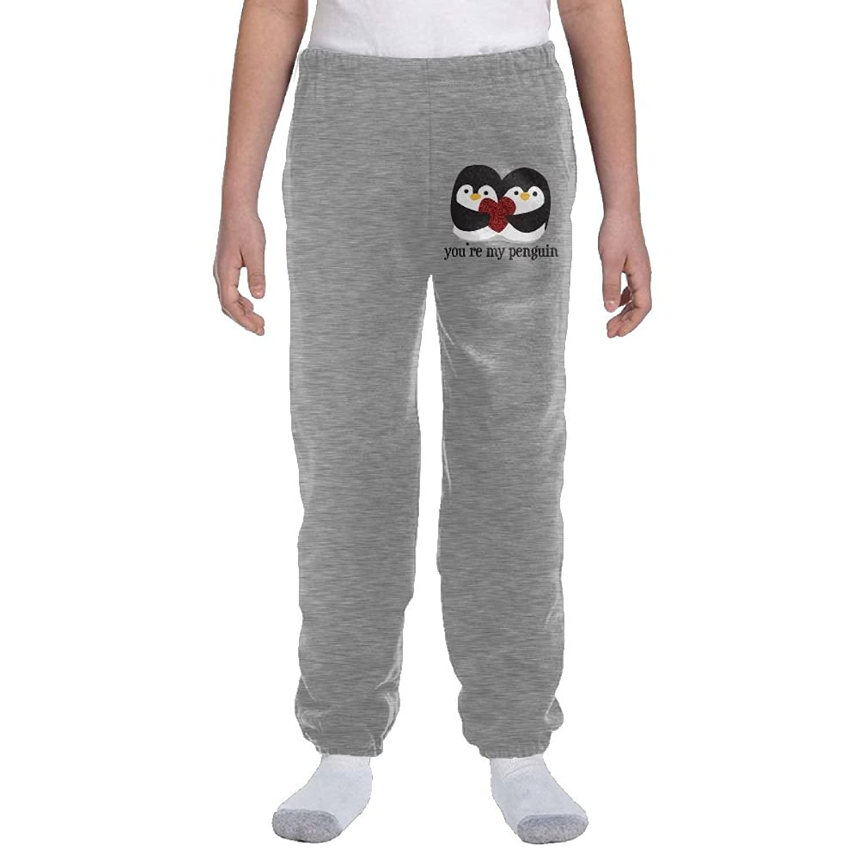 Papijam Boys Warm Fleece Padded Winter Elastic Waist Jogger Pants Gray 3T