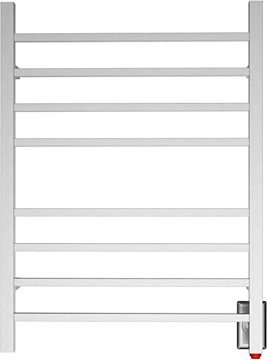 Manufactured from high grade 304 stainless steel round tubing 1200 x 400 Highly polished stainless steel bathroom radiator towel warmer