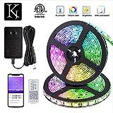 KORJO Dream Color LED Strip Lights, 32.8ft/10M
