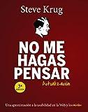 No me hagas pensar. Actualización (TÍTULOS ESPECIALES) (Spanish Edition)