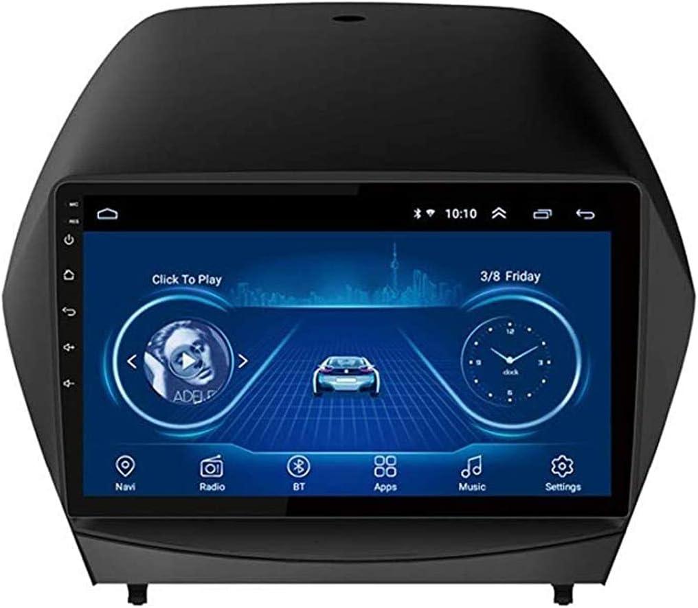 2.5D IPS Android 8.1 4 Núcleos A7 1.3GHz Radio DVD para Coche Navegación GPS para Hyundai IX35 Tucson 2010-2017 Audio Estéreo Navi Video con Llamadas Bluetooth Pantalla Táctil WiFi