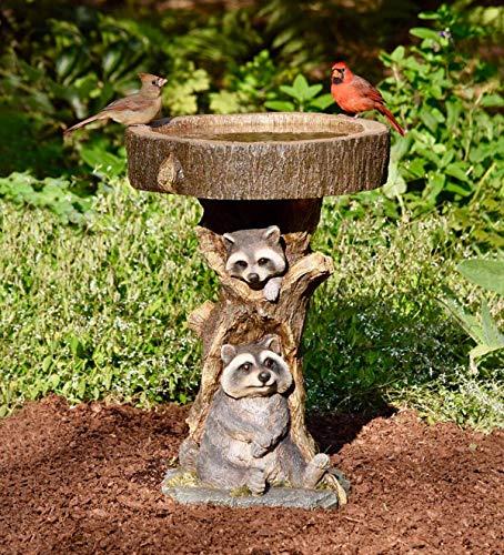 Plow & Hearth Resin Raccoon ()