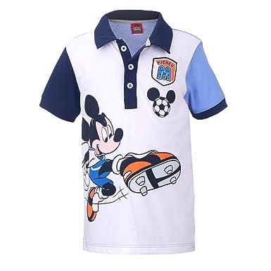 Blu Disney Ragazzi Mickey Mouse Maglietta