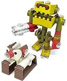 パイプロイド(PIPEROID) キャラクターズ ペンク&ゴリボーグ 2-in-1 紙工作キット