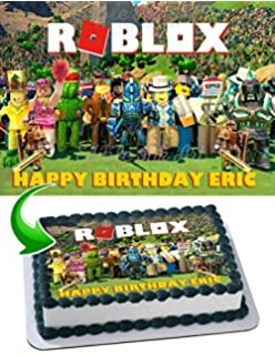 Amazon com: Robot Blocks Party Birthday Party Supplies Set