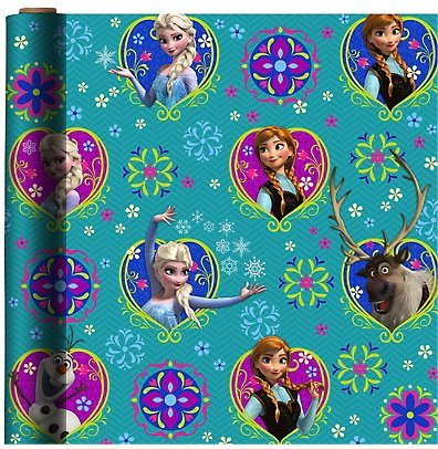 Disney's ~ FROZEN ~ Gift Wrap Paper (1 roll)
