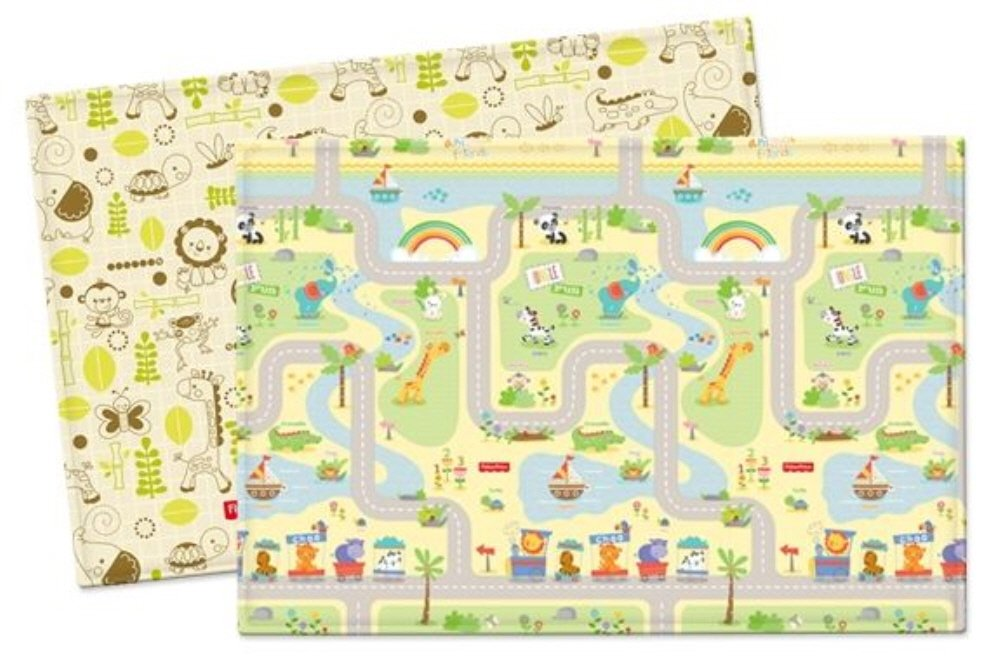 【セール 登場から人気沸騰】 Parklon Soft Pure Soft Playroom Mat Baby Playmat B0713QNW73 Double Sided road Design Fisher Price smile road 両面デザイン 赤ちゃんプレイマット (海外直送品) (235x140x1.5cm(Extra Large)) B0713QNW73 210x140x1.5cm(Large) 210x140x1.5cm(Large), グラスマーケット:72b3bfd9 --- martinemoeykens.com